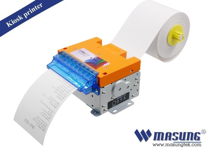 POS Kiosk Thermal Printer Module Full / Partial Cutting Method For Parking Machine
