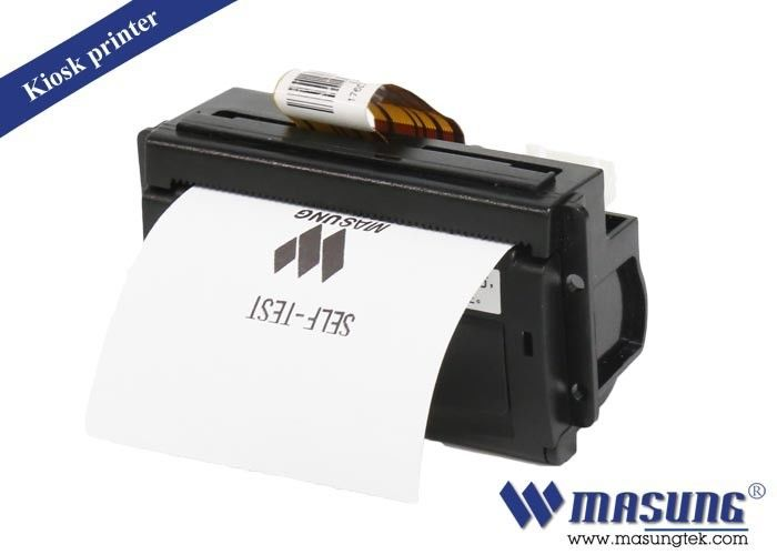 Compact Structure Wide Voltage Range Mini Panel Mount Printers MS205-SS Mechanism