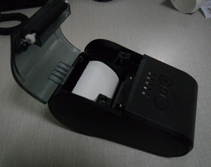 Android Bluetooth Portable Thermal Label Printer Module With Rechargeable 2600mAh Battery